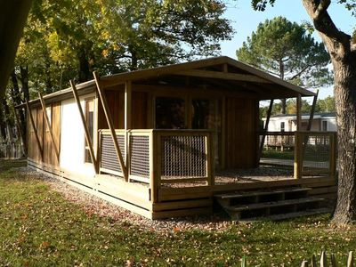 Photo for Camping Le Tastesoule **** - Sweeflower Premium 3 Rooms 4/6 People