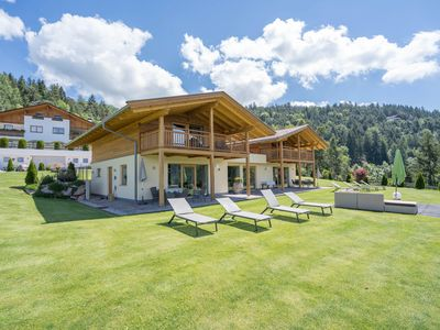 Photo for Gasserhof - Chalet B with Mountain View, Garden & Wi-Fi; Parking Available