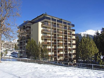 Photo for 2 bedroom Apartment, sleeps 4 in Davos with WiFi