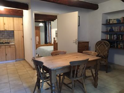 Photo for Puechabon 1 bed apt in Medieval Village situated in  area of Natural Beauty