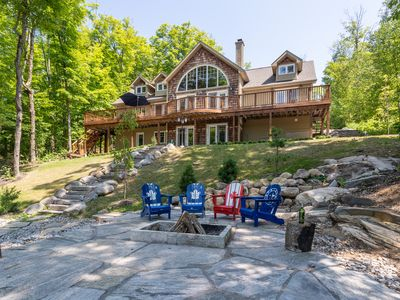 Photo for Newly Updated Waterfront Lake House On Beautiful Three Mile Lake