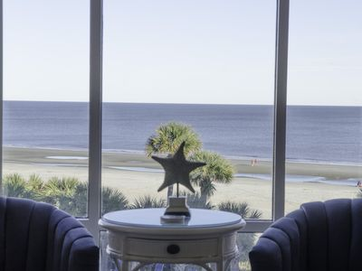 Photo for 2 bedroom condo, great rates, oceanfront, pool, fitness center & so much more!