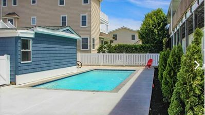 Photo for Great location in the Center of Avalon just a few properties from the OCEAN with a new pool!!