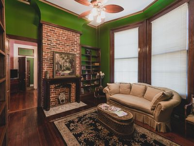 Photo for Luxurious 1-Bedroom Suite in Uptown Victorian Mansion