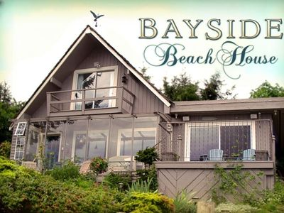 Photo for Bayside Beach House, an Exquisite Ocean Front Retreat!