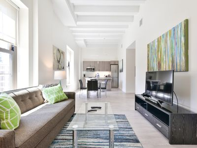 Photo for Luxury 1BR | Full Kitchen | Perfect for Medical Staff