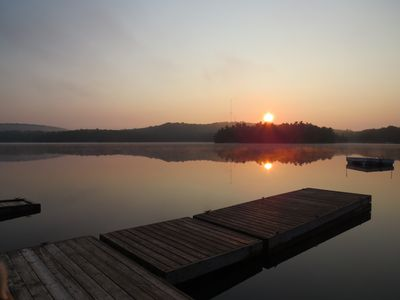 Photo for Stunning Private Island on beautiful Clear Lake just minutes from Huntsville