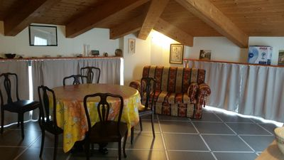 Photo for Comfortable attic with parking space in Chiavari