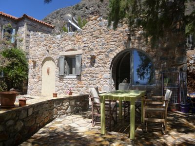 Photo for Perfect for singles and couples: studio directly at the sea, wifi | Messenia, Pe