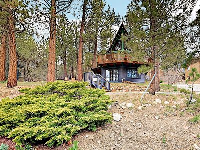 Photo for New Listing! Antler A-Frame w/ Loft & Pool Table -- Minutes to Slopes & Lake