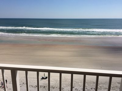 Your view from your balcony. This is direct oceanfront.
