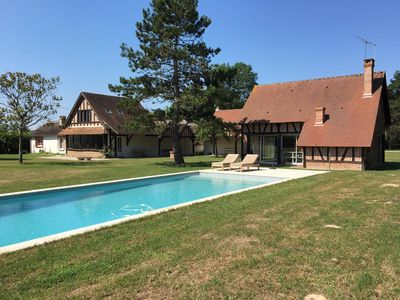 Photo for Sologne, beautiful property with swimming pool near Chambord, Cheverny, Zoo Beauval