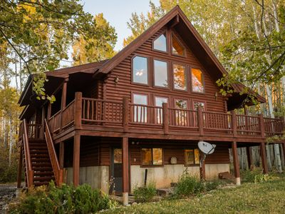 Photo for Star Valley Ranch Log Cabin on Golf Course
