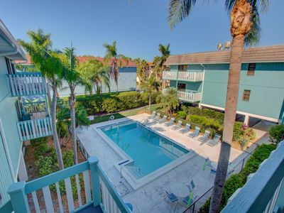 Photo for The Anna Maria Island Bay Watch Bungalow-Surrounded By Water-One Minute Walk To The Beach-Heated Pool