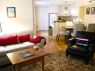 Photo for Garden Apartment in Heart of Capitol Hill
