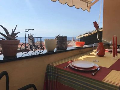 Photo for SEA VIEW 008055-LT-0265 - BEAUTIFUL VISTAMARE FROM THE PIGNA VERY CLOSE TO THE CENTER 008055-LT-0265