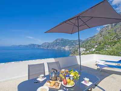 Photo for Shazzy Praiano with Views of Capri and Positano
