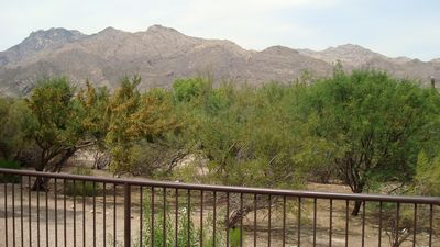 Photo for Fabulous Mountain Views- 2 Bedrm 1st Floor with extended patio-Walk in shower