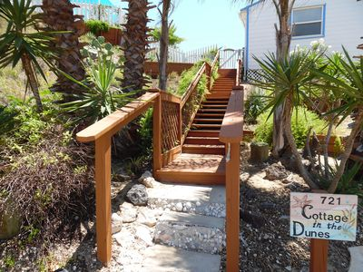 Photo for Walk to Beach! Great Outdoor Space! Good Dogs OK, 1 BR Beach House with POOL!!!