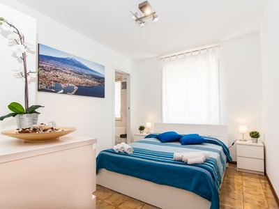 Photo for SICILY ETNA MARE panoramic house on the sea in residence with swimming pool