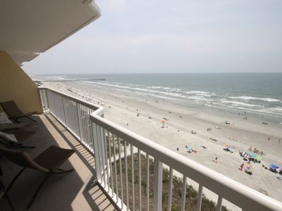Photo for Decorater's Own Oceanfront Condo in Cherry Grove Beach - 3 Bedroom 3 Bath
