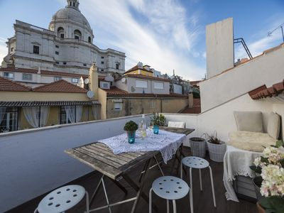 Photo for Alfama - 2 Level Apartment With A Stunning View