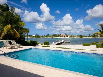 Photo for Halcyon Days - Tropical House, Private Pool & Boat Dock in Rum Point