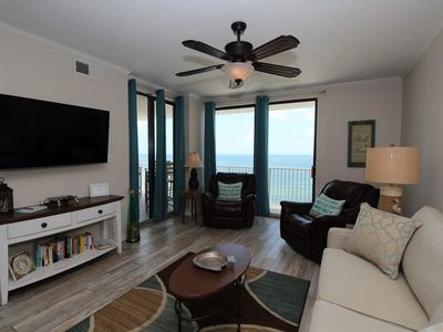 Photo for Shoalwater 1102-Beach Front Views from Large Terrace with Luxurious Interior!