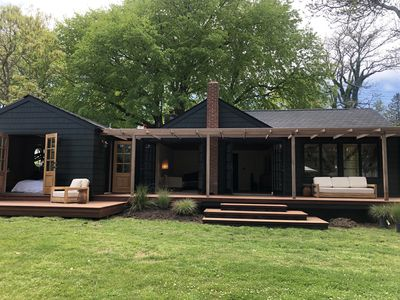 Photo for Chic Luxury Cabin in Montauk ~ Newly Renovated ~ 2 acres