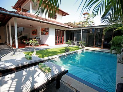 Photo for 3 Bedroom Pool Villa, Central Seminyak, Daily housekeeping staff