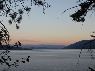 Photo for Lake Okanagan 550 foot Private Beach 4 bdrm +  with gorgeous views