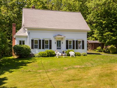 Photo for 1875 classic New England cape nestled only 1 mile from York beaches.
