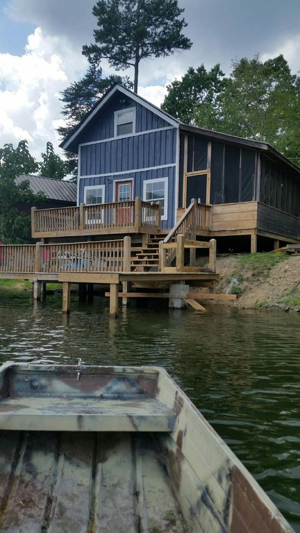 Lake House Fishing Cabin 35 Minutes From Chattanooga Tn