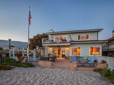 Photo for Beachfront Bliss - On the Sand in Carpinteria