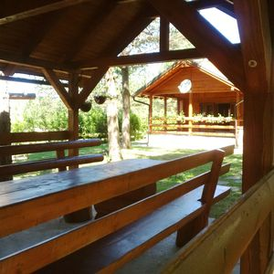 Photo for Family Friendly Wooden Cottage, big Garden at Nature Lovers Park Plitvice Lakes