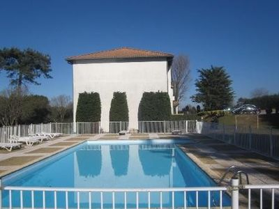 Photo for 250m from the beaches with pool, F3 with terrace and balcony st jean de luz