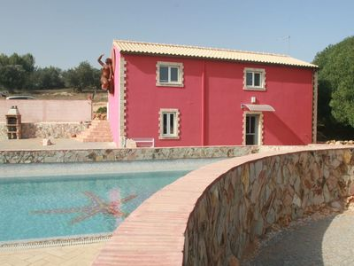 Photo for 2 bedroom Villa, sleeps 4 in Estômbar with Pool, Air Con and WiFi