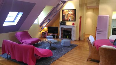 Photo for Saint Malo IntraMuros - apartment T2 LOFT of 61m² - 2 to 4 people