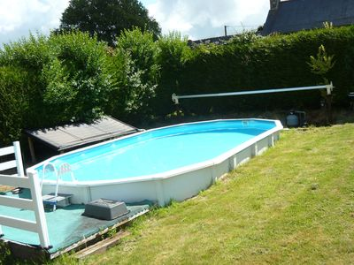 Photo for Quaint Holiday Home in Chapelle Neuve with Swimming Pool