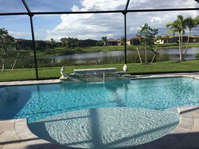 Photo for New Gated Community Near Beach - Heated Pool with Lake View - Pet Friendly