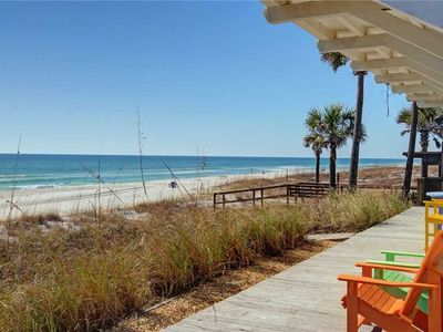 Photo for Coastal SandCastle - Gorgeous Gulf Front Home! Sleeps 18, Private Pool, Gas Grill!