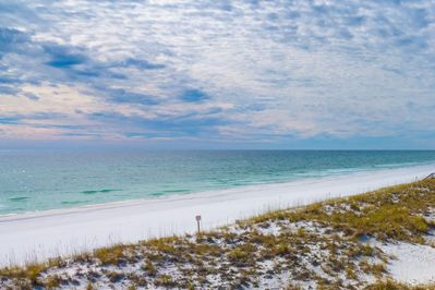 Completely unobstructed view of the Gulf of Mexico from your private balconies