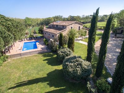 Photo for Large 8 A/C Bedrms Mansion in Spain| near Barcelona &15min beaches|Private pool