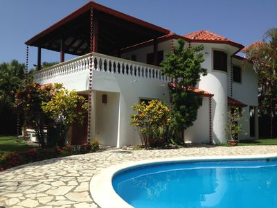 Photo for Sosua/Cabarete Lovely home 15 minutes away from the Airport