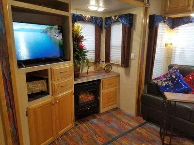 Photo for Shooting Starburst - Gated RV - Wi-fi, Pets and Parking