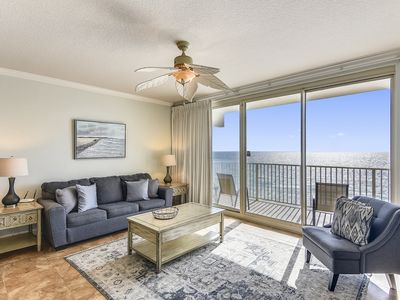Photo for Skip the elevator and enjoy this SANITIZED Gulf Front condo at Shores!
