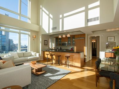 Photo for Luxury - Opposite Bloomingdales, high ceilings with views of Central Park