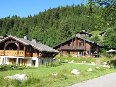Photo for Cozy chalet with sauna in the Alps, 400m from ski slope