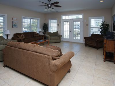 Photo for Amy's Oasis, a 5BR North Myrtle Beach villa with game room & private pool