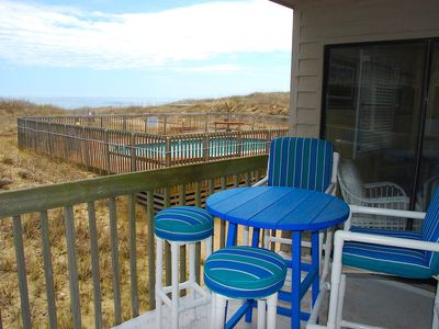 Photo for Beach Bum Oceanfront Condo at Admirals View III, Near Kill Devil Hills Attractions